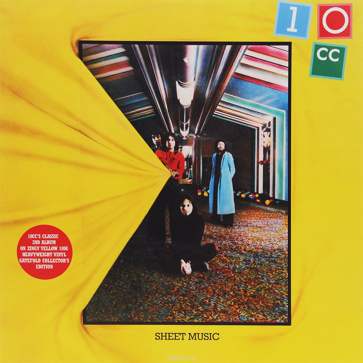 10CC. Sheet Music (LP)