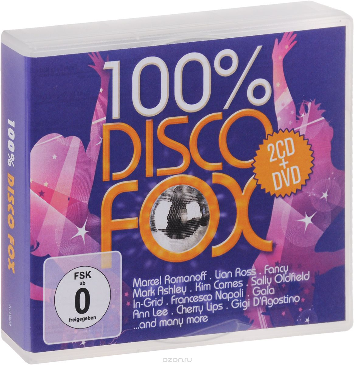 100% Disco Fox (2 CD + DVD)