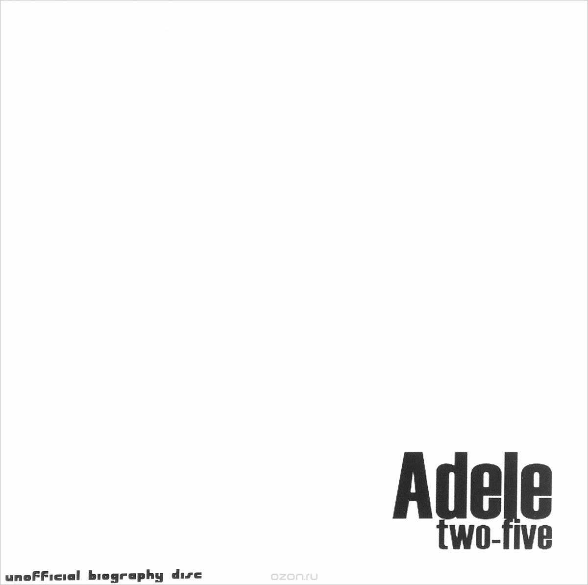 Adele. Two Five